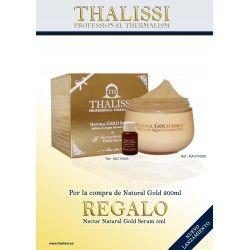 NATURAL GOLD ESSENCE Saffron & Argan 200 ml + Regalo Nectar 5 ml