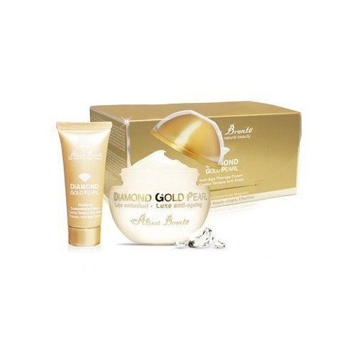 DIAMOND GOLD PEARL Youth Therapy Cream 50ml + GIFT Travel Size 20ml.